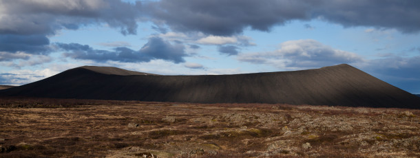 Hverfjall mountain